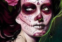 Mexican Suger Skulls