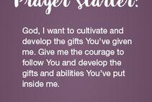 Prayer Starter