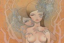 Audrey kawasaki / by Angel gimeno