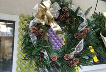 It's beginning to look a lot like Christmas.... / Handmade Bows, Wreaths and Premier Fraser Fir Trees