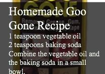 Homemade goo
