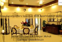 Luxury Apartments in Mohali / ATS Casa Espana offers luxury apartments design that will make you feel comfortable and relaxed in these apartments  For more information call at : 9888449029