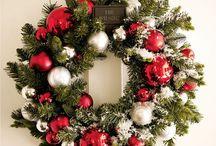 Coronas de navidad y coronas de adviento / Distintas coronas para la navidad