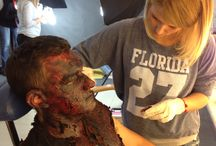 FX MAKEUP - A man who died in fire