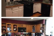Town Line Home Paint Projects / Home painting projects completed using paint from Town Line Wallpaper & Paint that will hopefully inspire your next home painting project.