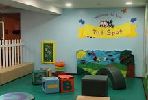 Soft Play / Toddlers need a fun and safe place to play!  Worlds of Wow! custom designs and fabricates soft play areas.