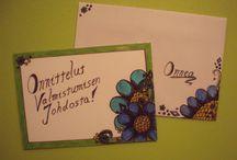 My Handmade Flower Cards