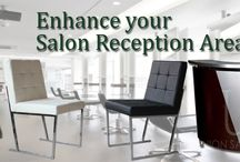 Enhance your salon reception area with appropriate furniture! / USF offers a variety of salon furniture specially designed for reception area of a salon business.