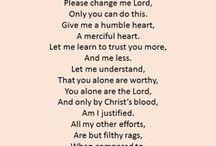 Praying prayers