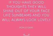 Happiness & Inspiration / Things to inspire & motivate. Be happy #bebright #thebrightnessofthesedays