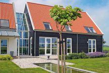 Eigentijdse woningen / De meest eigenzinnige bouwstijl. Eigentijdse architectuurtaal passend in het hedendaagse - Meer over onze bouwstijlen op http://www.z-wonen.nl/bouwstijlen