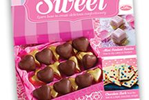 Something Sweet Magazine / With Something Sweet you can learn how to make delicious confectionery, mini cakes and chocolates AND receive free gifts with eachissue!Visit http://somethingsweetcollection.co.uk/#free-gifts for more information...