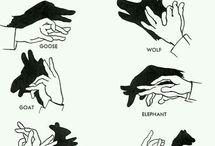 Pokazane dłońmi