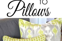 Pilows and cushions