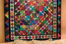Bright quilts