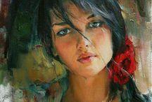 feminine beauty in art