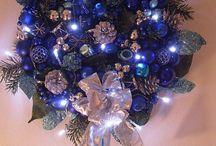Blue christmas yum