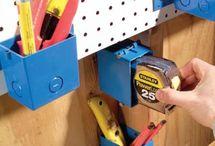 DIY Garage Ideas / by Shannon Warnick