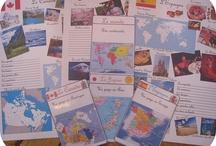 Ecole projet tour du monde