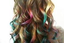 Dye hair ideas / by elise swanstrom