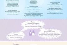 Dicas de Casamento do Clube Imagem / Aqui tem várias ideias para a realização da cerimônia e da festa de casamento.  #dicasdecasamento