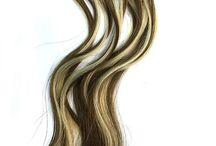 U Tip hair extensions