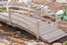 Garden Bridges / Great for a short hop over a stream or just a nice decoration.