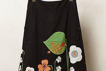 faldas decoradas