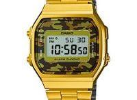 Relojes dorados Casio