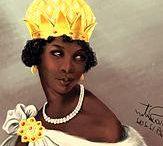 African´s Queens / Reines et héroines  d´Afrique