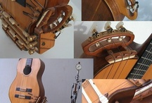 """Kertsopoulos Guitars"" / Guitars and strings constructed by Y.Kertsopoulos."
