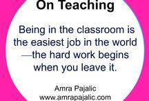 On Teaching / I'm a high school teacher. Sometimes I  write about it.