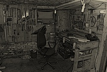 My workshop / Desing, lamps, wood, woodworking, furniture, recycling, handmade, ecological...