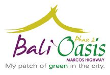 Bali Oasis Phase 2 / Escape to tranquility each day at Bali Oasis, which is part of Filinvest's growing portfolio of medium-rise condominium enclaves in prime locations.  Urban dwellers can find a haven in the city at Bali Oasis, a medium-rise condo community along Marcos Highway in Pasig City. Balinese-inspired architectural touches, warm earth tones and luxuriant landscapes complement the soothing ambience of this secure, peaceful, yet highly accessible enclave.