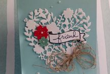 Heart stampin up