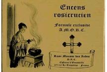 Productos Rosacruces / Productos relacionados con la filosofía rosacruz, el misticismo y la espiritualidad, como incienso de varios tipos, láminas, etc.