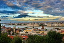 Magyarország városai / Magyarország nagyvárosai, műemlékkel,nevezetességekkel