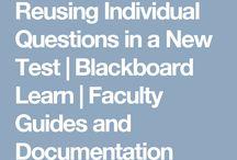 Blackboard tips