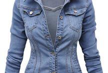 Kurtka Damska Katana Jeans Slim Stretch #144 FASHIONAVENUE.PL / Kurtka Damska Katana Jeans Slim Stretch #144 FASHIONAVENUE.PL