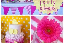 pienk lemonade party ideas