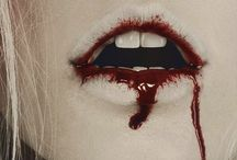 lips blood
