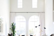 Vaulted ceiling decor