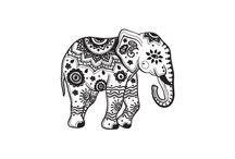 Tatuaggio elefante piccolo