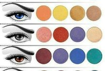 The right kinda shades for your eye color...