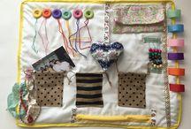 Fidget blanket for Alzheimer's