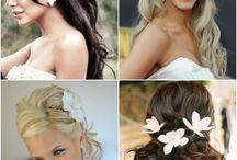 wedding hair / wedding hair ideas  / by Shannon Jurecki