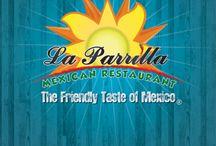 "New Menu / Introducing La Parrilla Mexican Restaurant ""New Menu"" New Dishes - New Style"