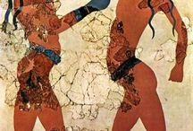 ancient greek paintings