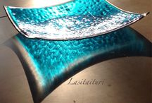 Design by Lasitaituri / Lasitaiturin omia töitä