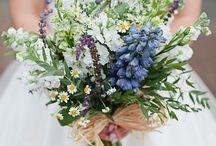 bruidsboeket veldbloemen